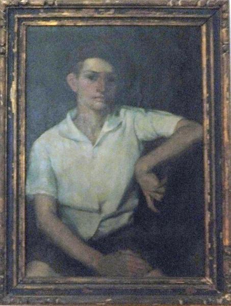 Carl as teenager in France