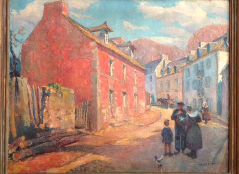 <center>Street in Brittany </center>