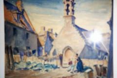 <center>Church in Breton Village</center>