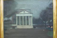 <center>University of Virginia, Moonlight on the Rotunda, 1911</center>