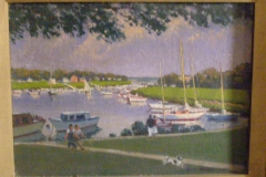 <center>Mamaroneck Harbor from Studio</center>