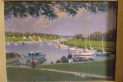 <center>Mamaroneck Harbor from Studio</center>
