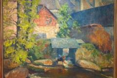 <center>Washerwomen, Quimperle. 1923</center>