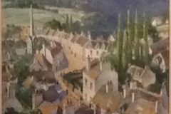 <center>Pont-Aven, Brittany, 1924.