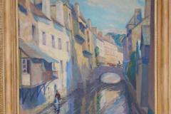 <center>A Bridge, Quimperle, 1924</center>