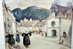 <center>Pont-Aven, 1923</center>