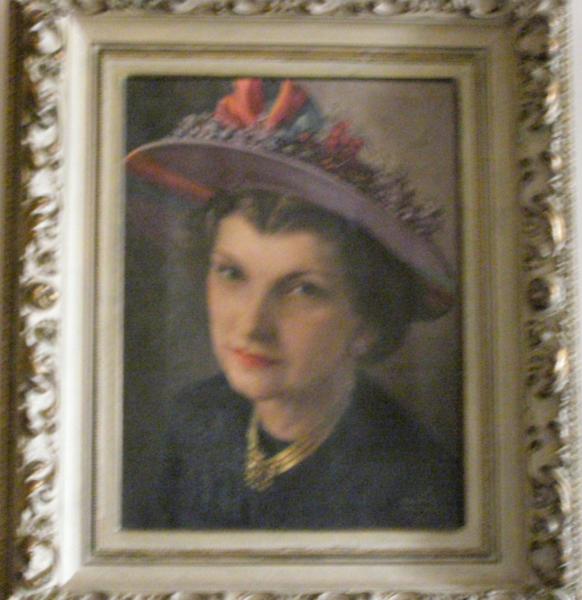 <center>Lillian in Hat</center>