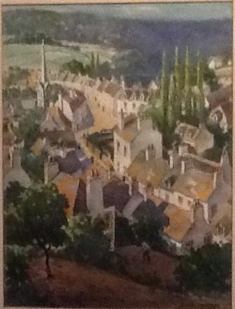 <center>Pont-Aven, Brittany, 1924.