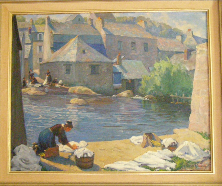 <center>Pont-Aven Washerwoman</center>