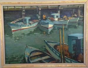 Fisherman's Wharf, 1919