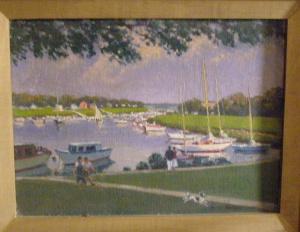 Mamaroneck Harbor from Studio