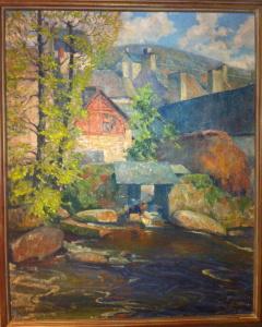 Washerwomen, Quimperle. 1923