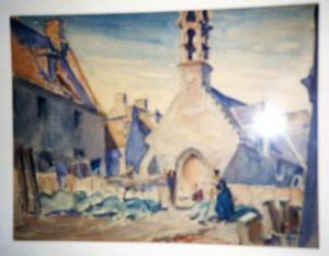 Church in Breton Village