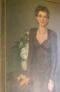 Lillian in Brown Dress, 1946