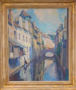 A Bridge, Quimperle, 1924